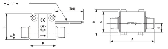 叶轮式-小量程型流量计 ND .量测范围:0.3〜3至3〜60 L/min .精确值高,操作简单 . 适用介质:化学液体,水,纯水,热水,弱腐蚀性材质... . 介质温度:0〜60或0〜70(依型号) . 接液口为R1/2 R3/4 . 采用叶轮式测量原理